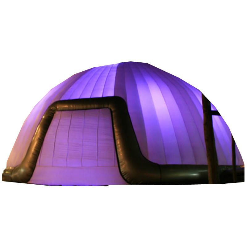 inflatable LED lighting party tent