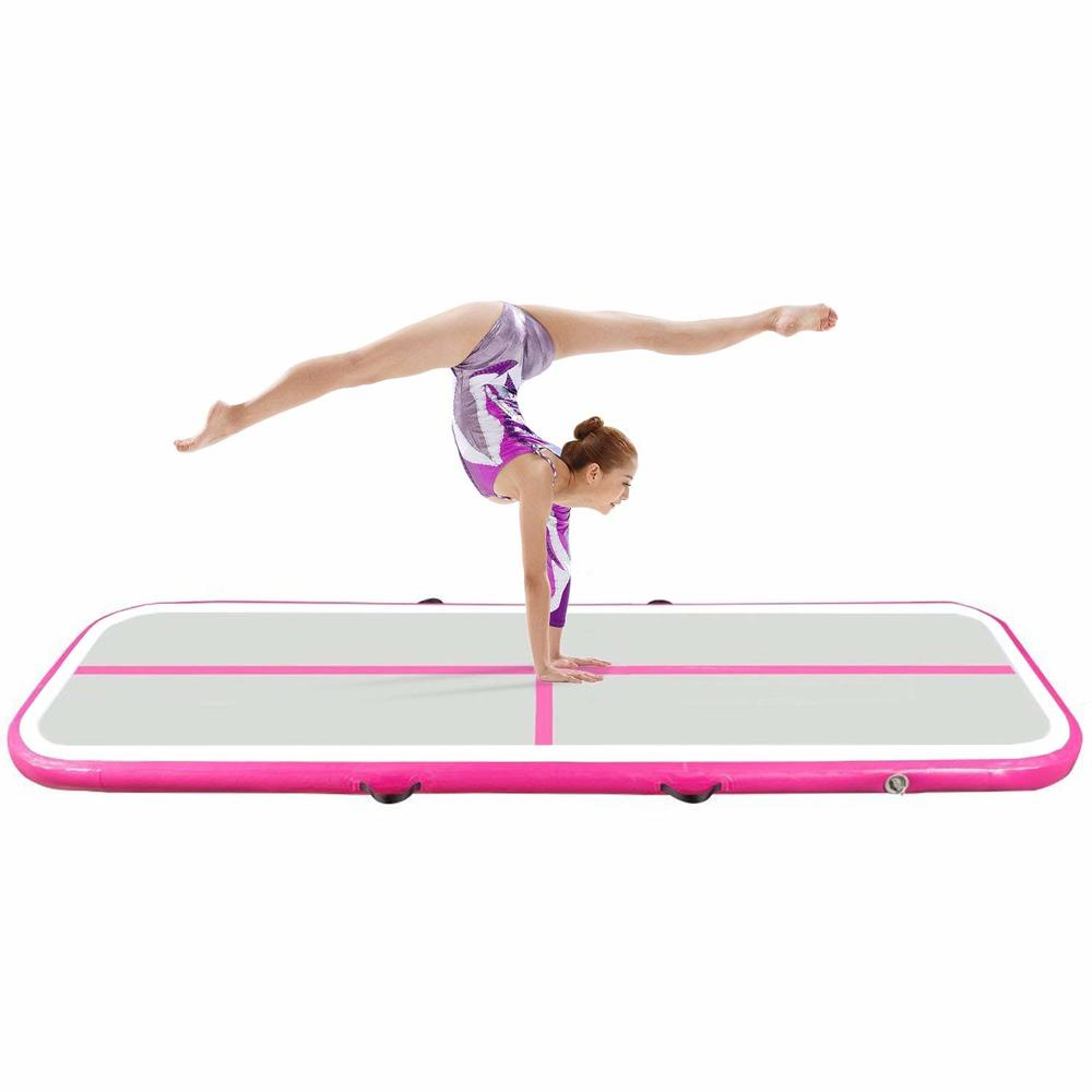 Best price Inflaltable gymnastics air mat,exercise yoga mat for indoor/outdoor activities