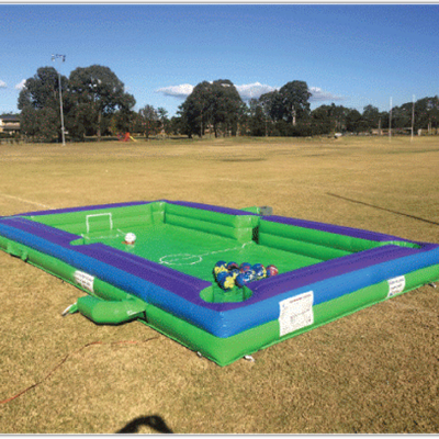 Giant Inflatable human billiards for event hire