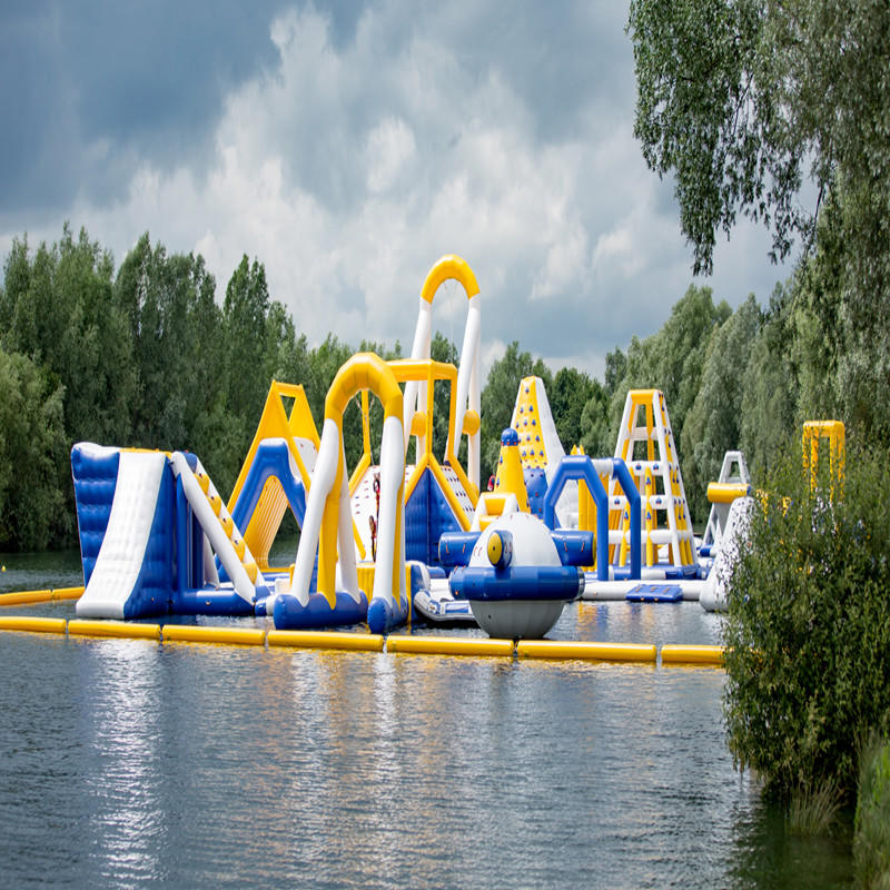 Latest design inflatable floating water park for sale