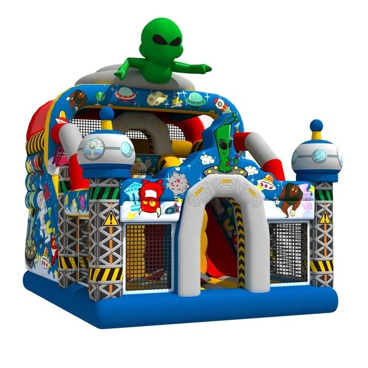 Best Quality Space World Jumping Castle Outdoor Inflatable Bounce House Playground