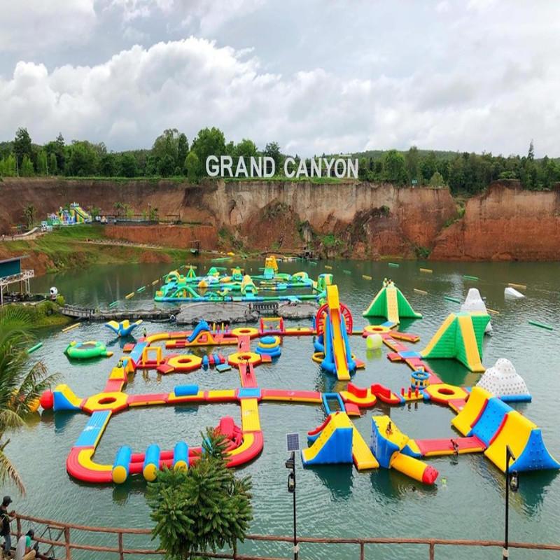 Floating Inflatable AquaPark Adventure WaterSports