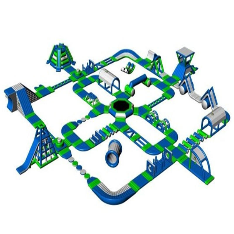 Cheer Amusement Giant Inflatable Water Games Floating Water Park
