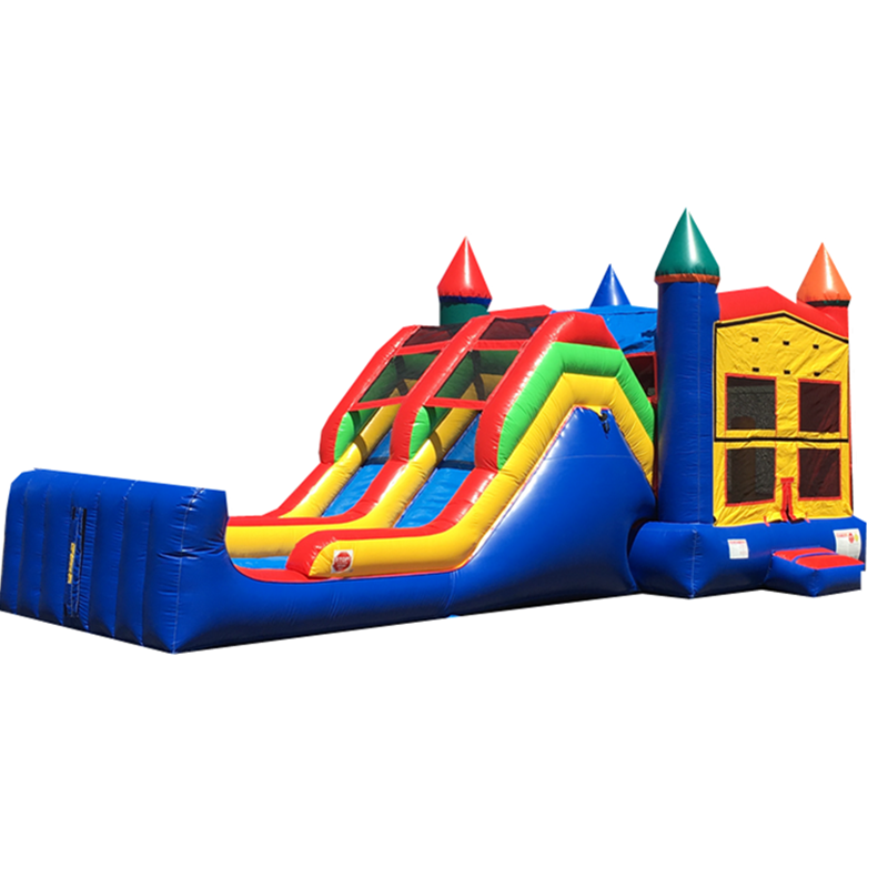 Commercial grade module inflatable combo game from Newpoint Inflatables