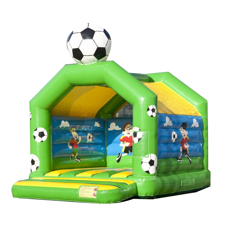 Football Design Commercial Inflatable Jumping Castle Inflatable Bouncers For Kids