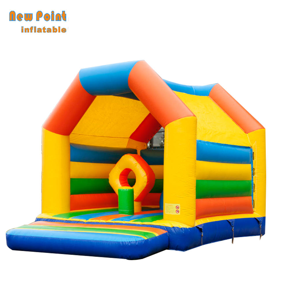 Outdoor Jumping Bouncy Castle  Bounce House Inflatable Bouncer With Slide