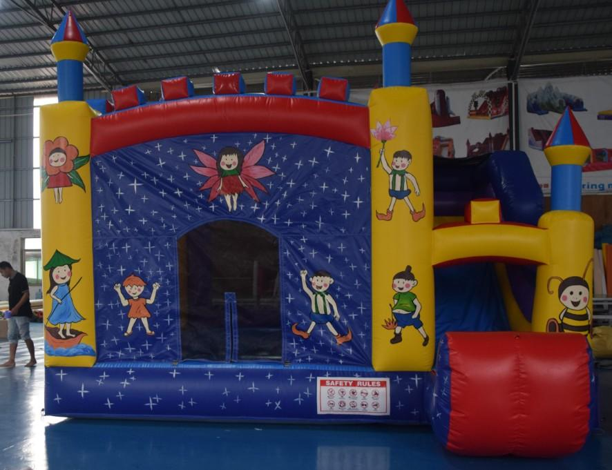 Commercial Inflatable Combo Bouncing Castles Bouncer Facoty Prices Used Jumping Bouncy Castle Kids With Slide