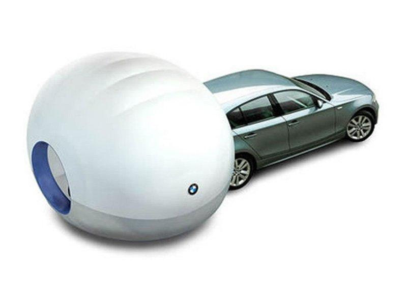 BMW sunshine inflatable tent cover
