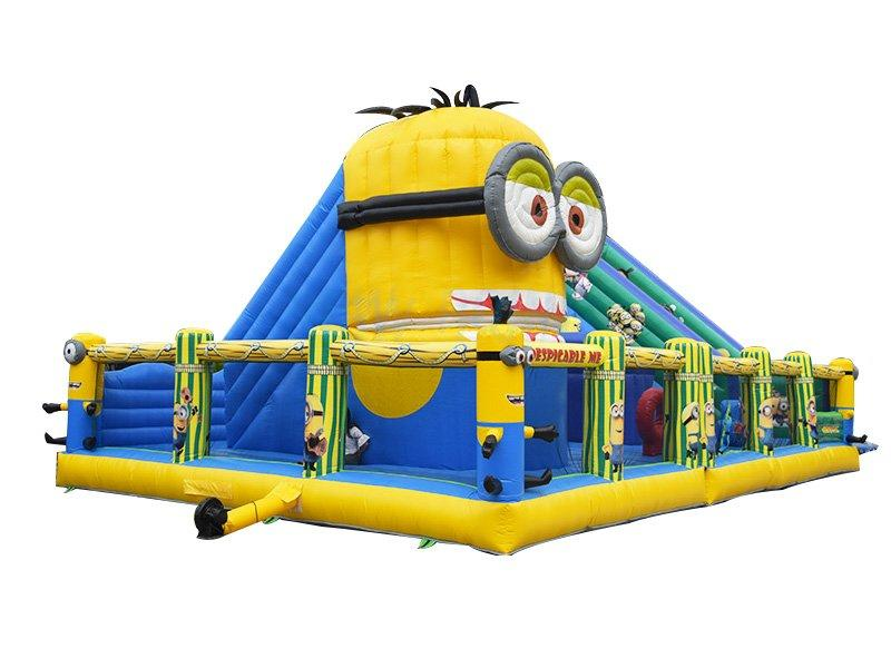 Guangzhou New Point CE sponge PVC inflatable amusement park for kids
