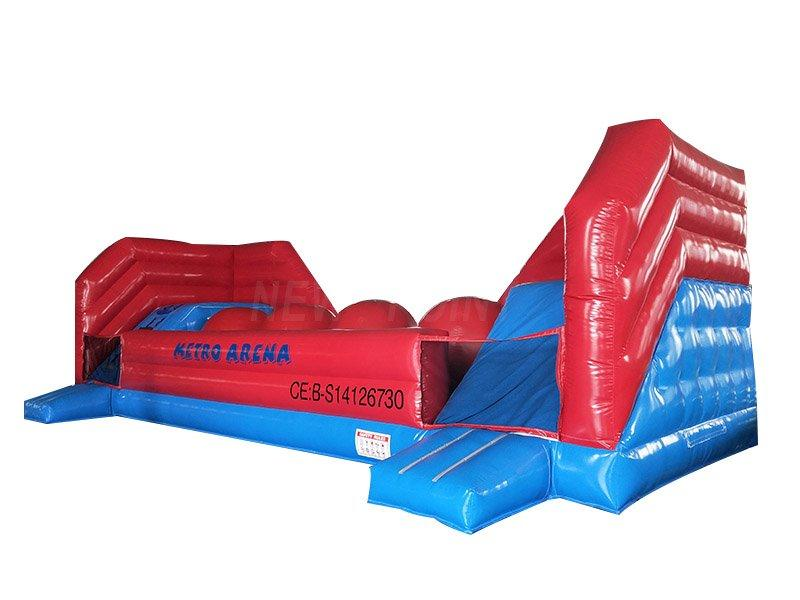 Guangzhou New Point CE PVC 0.55mm PVC Obstacle Course Inflatable Wipeout big ball