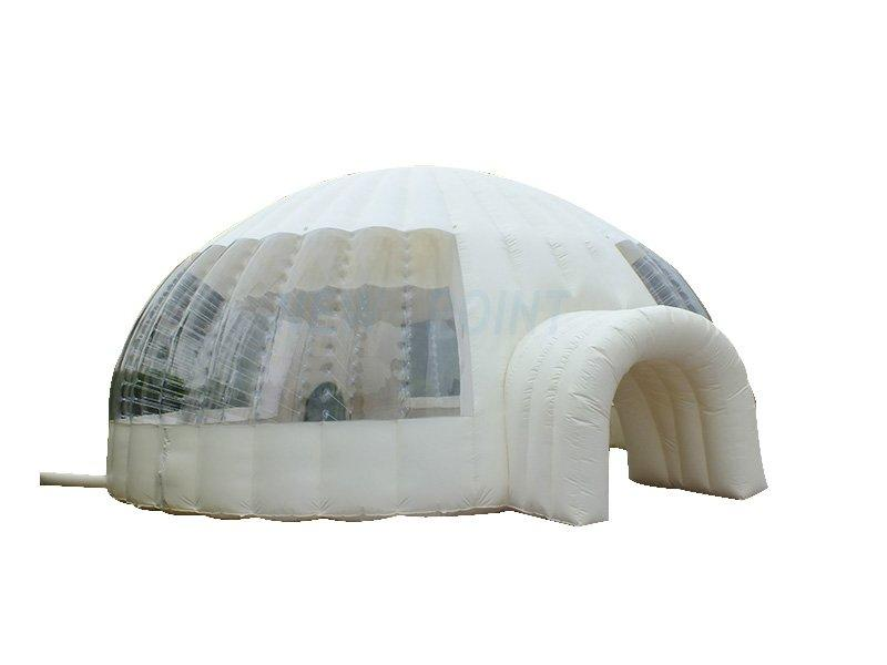 Guangzhou New Point CE event wedding party PVC inflatable dome tent on sale